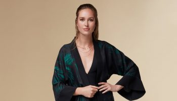 kayll_kate_long_silk_floral_printed_kimono_luxury_resortwear_green_2_copy